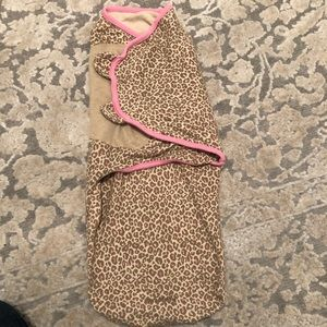 Other - Leopard Velcro swaddle